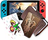 24 Pcs NFC Tag Game Cards for TLOZ Breath of The Wild Botw Switch/Switch Lite/Wii U with New Card for Link's Awakening
