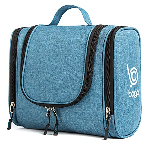 Bago Travel Toiletry Bag for Men Women and Kids. A Perfect Hanging Cosmetic...