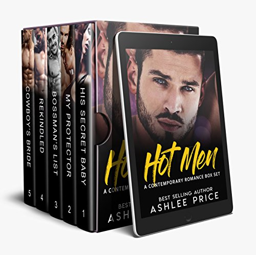 HOT MEN: A Contemporary Romance Box Set (English Edition)