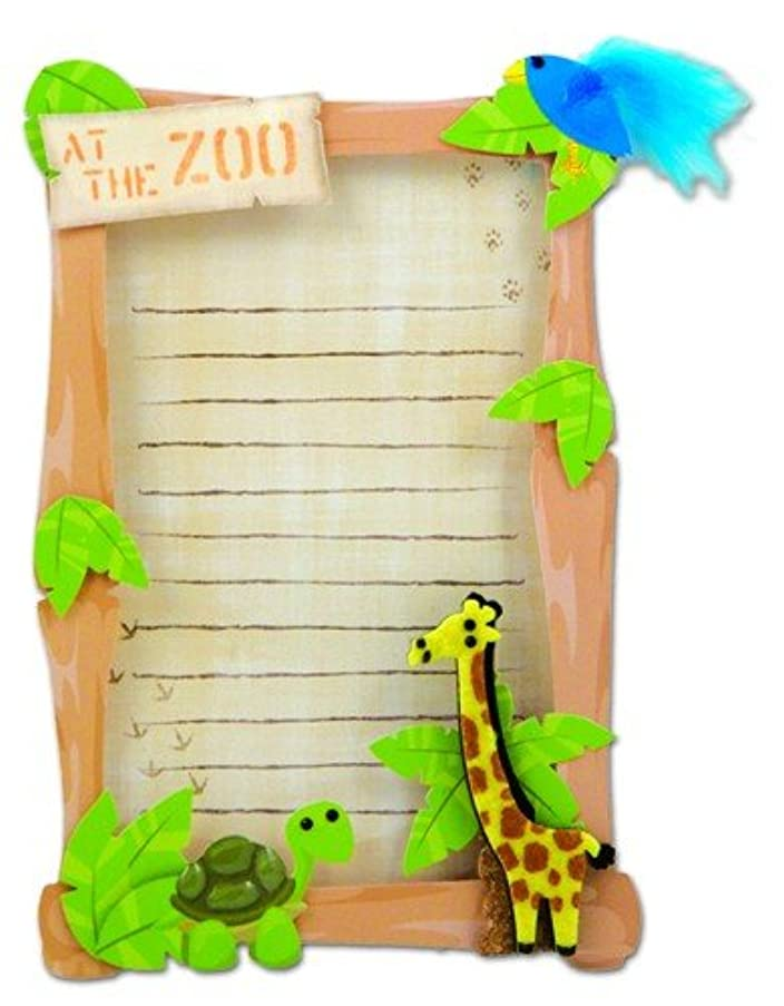 Karen Foster Design Zoo Stacked Journaling, 2-Piece