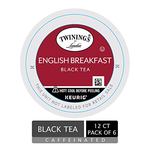 Twinings of London English Breakfast Tea K-Cups ()