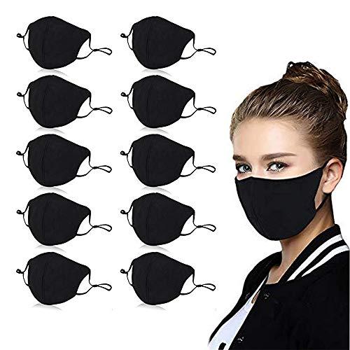 10 PCS Reusable Cotton 4 Layer Protective Face Protector