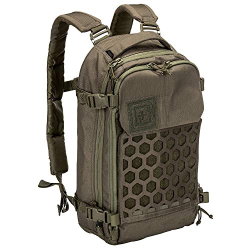 5.11 Tactical Series Amp 10 Backpack Freizeitrucksack 50 cm, Daypack, 511-56431-186, Grün, 511-56431-186