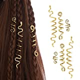 FRDTLUTHW 6 Pcs Hair Accessories Loc Hair Jewelry for Women Braids, Dreadlock Accessories Metal Hair Clips Decoration(Multiple Styles)-style 1