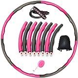 BestPriceStore24 GmbH Set de fitness con cuerda de saltar, cinta métrica, bolsa de deporte, aro de fitness para entrenamientos de hula hoop, para adultos y niños, para perder peso y perder peso