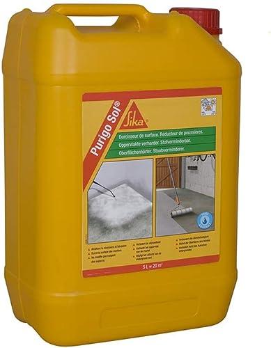 Sika - Purigo Sol - Durcisseur de surface et réducteur de poussières pour béton - 5 L