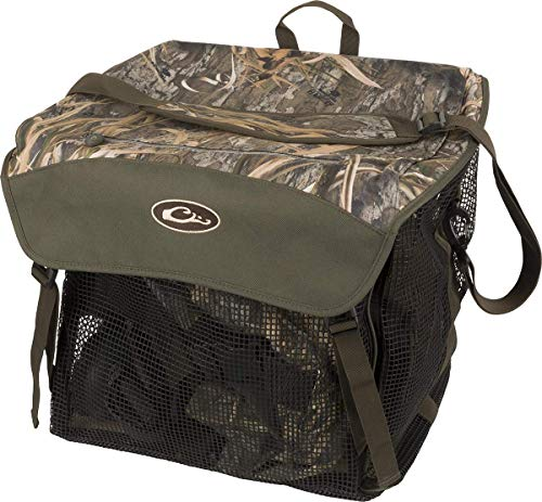 Drake Waterfowl Wader Bag 2.0 Mossy Oak Shadow Grass Habitat One Size Fits Most