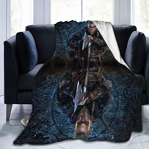 Fundas de brazo para sillón, diseño de lobos de Midgard, Ragnarr Ivar Vi-Kings, de corte extendido, ultra suave y esponjoso, tamaño de viaje, para todas las estaciones, para sofá cama, 152 x 127 cm