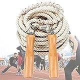CZ-XING Springseil für Mehrspieler, langes Seil, Längen: 5 m, 7 m, 10 m, für Gruppen, Seilspringen, 5 Meter