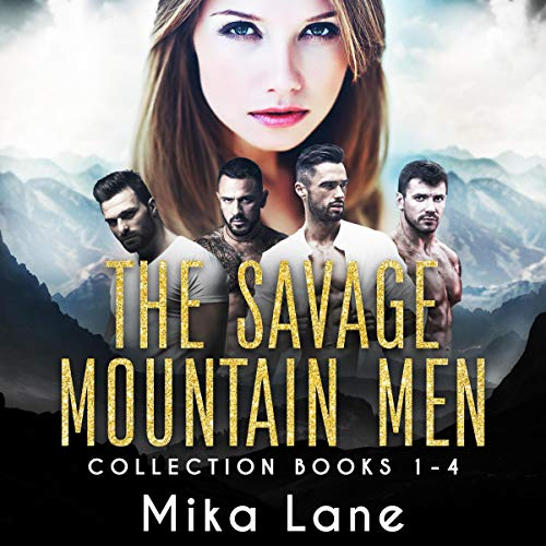 Couverture de The Savage Mountain Men Romance Collection