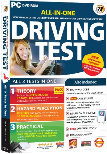 All-In-One Driving Test 2009/2010 Edition (PC DVD)