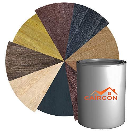 Dickschichtlasur 2in1 | Holzlasur für Innen und Außen | Dauerschutzlasur Holzschutzlasur Wetterschutz Holzpflege - Farblos 1L