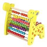 logozoee Juguetes educativos Abacus, Juego de conteo, Instrumento de Madera, Multifuncional para niños, Regalos, niños pequeños