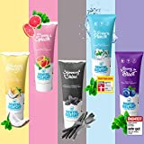 DENTAL DELIGHT 5er Mix-Paket | 5x vegane Zahnpasta mit Geschmack | klimaneutral ohne Mikroplastik