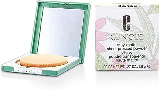 Stay Matte Powder Oil Free - No. 04 Stay Honey - Clinique - Powder - Stay Matte Powder Oil Free - 7.6g/0.27oz