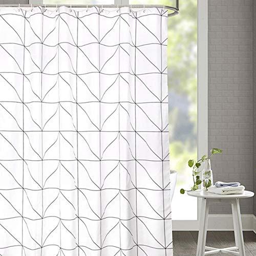 Deirdre Agnes Blinds polyester douchegordijn voor badkamer, waterdicht douchegordijn, woondecoratie cadeau 120-180cm