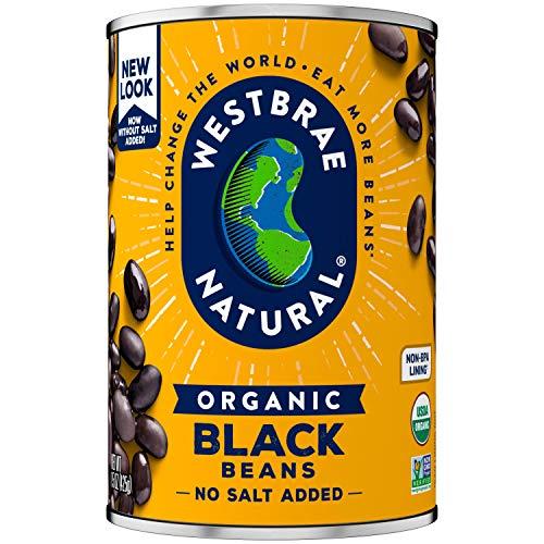 Westbrae Natural Organic Black Beans, 15 Ounce