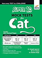 Super 10 Mock Tests for CAT