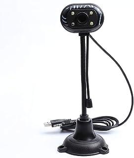 Webcam USB 2.0 Hd Led Web Camera with Microphone 480p Webcam for Computer Pc Laptop Desktop
