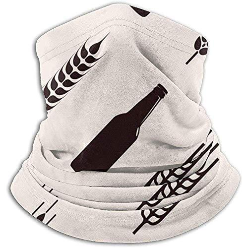 Flessen van bier en tarwe hoofdband gezichtsmasker Bandana hoofd wrap sjaal hals Warmer hoofddeksels Balaclava voor sport