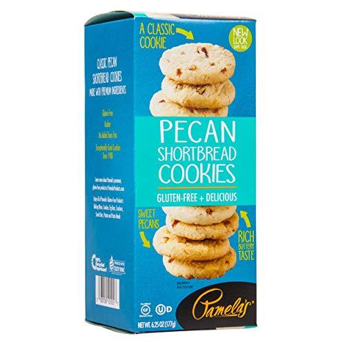 Pamelas Products Cookies Shortbread Pecan , 7.25 oz ( pack of 6)