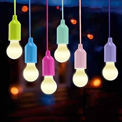 Lamping LED Leuchte, Lampen Camping Laterne,WEBSUN Tragbare 6 Stück Licht für Wandern, Angeln, Schreibtisch, Camping, Zelt, Garten, BBQ oder einfach als dekorative Lampe Batteriebetrieben