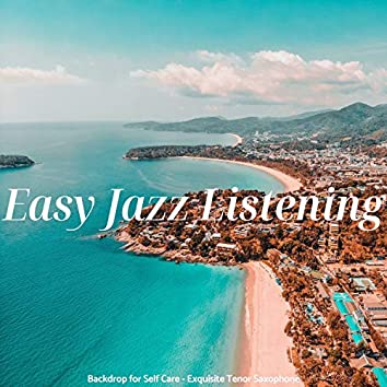 Backdrop for Self Care - Exquisite Tenor Saxophone