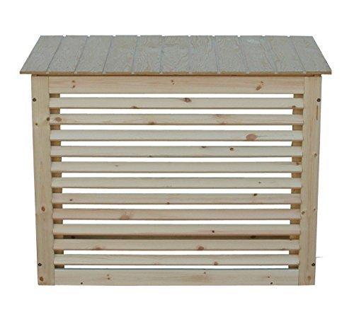 Schutzgehäuse aus Holz für Klimageräte oder Wärmepumpe Gr.2