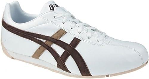 ASICS sroseick hY806 0161 couleurs   Blanc Marron