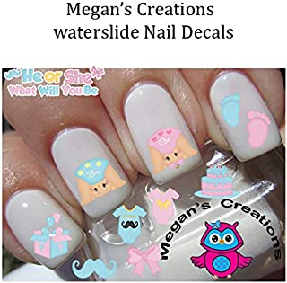Best baby gender reveal nails Reviews