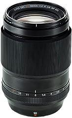 Fujifilm Fujinon Lens XF 90 mm F2 R LM WR - Objetivo para cámara, color negro