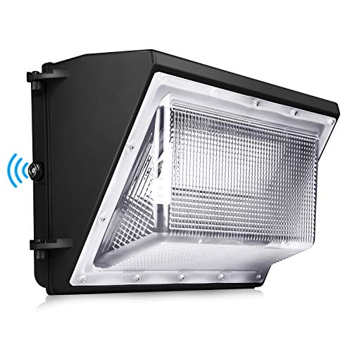 120W LED Wall Pack Light Dusk to Dawn Lights 5000K Outdoor Commercial and Industrial Lighting