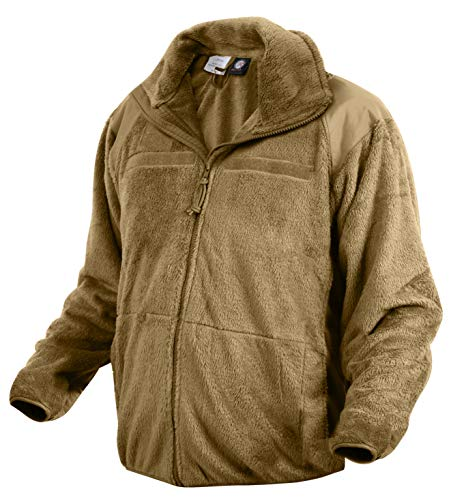 Rothco Generation III Level 3 ECWCS Fleece Jacket, Coyote Brown, L
