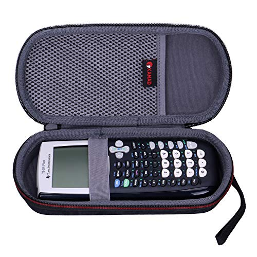 XANAD - Funda rígida para Texas Instruments TI-84 Ti-83 Ti-85 Ti-89 Ti-82 Plus or C CE Pocket Graphing Calculator