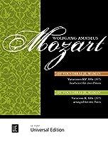 モーツァルト: キラキラ星変奏曲 KV 265/ウニヴァザール社/フルート二重奏のための編曲