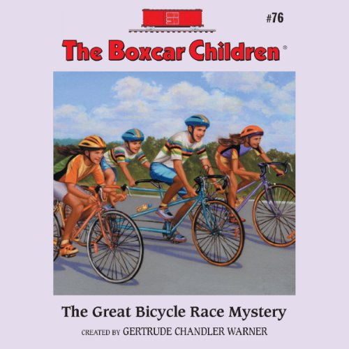 The Great Bicycle Race Mystery audiobook cover art