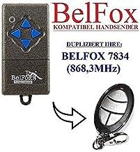 BELFOX 7834 Compatible handzender, reserve zender, 868.3Mhz vaste code, klone