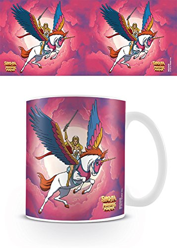Masters of the Universe MG23429 (She-Ra-Unicorn) Mug, Céramique, Multicolore, 11oz/315ml