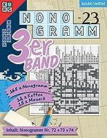 Nonogramm 3er-Band Nr. 23: Raetsel fuers Auge