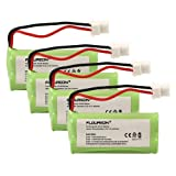 INSTEN Pack of 4 Cordless Home Phone Battery Pack Compatible with VTech BT183342