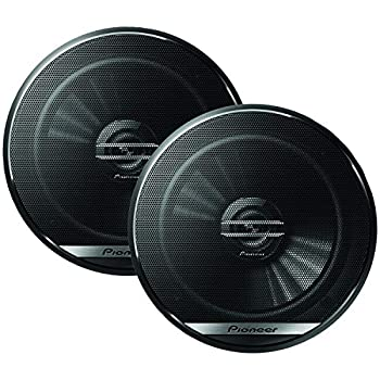 Pioneer TS-G1620F 6-1/2  2-Way Coaxial Speaker 300W Max / 40W Nom 12.90In X 7.40In X 3.20In BLACK