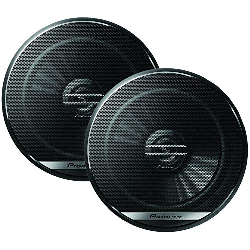 Pioneer TS-G1620F 6-1/2' 2-Way Coaxial Speaker 300W Max. / 40W Nom., 12.90In. X 7.40In. X 3.20In., BLACK