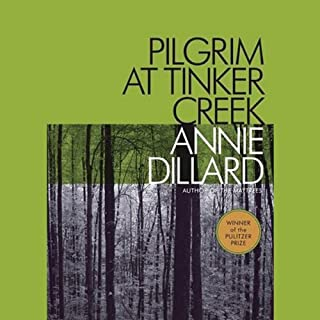 Pilgrim at Tinker Creek  cover art