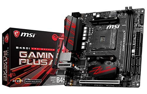 MSI Performance Gaming AMD Ryzen 1st and 2nd Gen AM4 M.2 USB 3 DDR4 HDMI Display Port Mini-ITX...