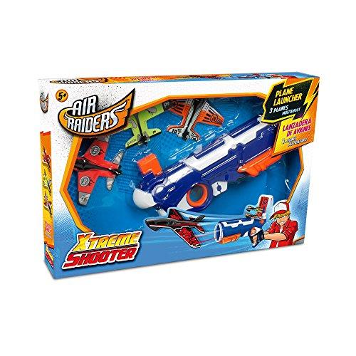 World Brands Xtrem Raiders-Xtreme Shooter- Lanzador con 3 Aviones