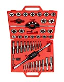 TEKTON 7560 Tap and Die Set, Inch, 45-Piece