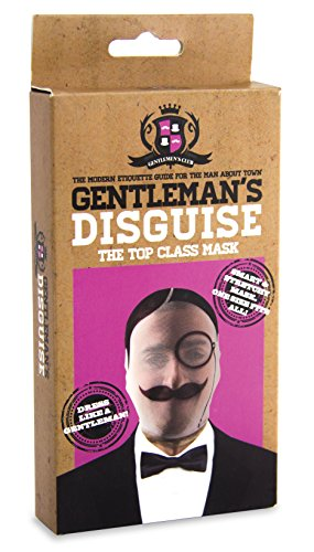 Gentleman's Disguise - One Size Stetchy Full Head Mask