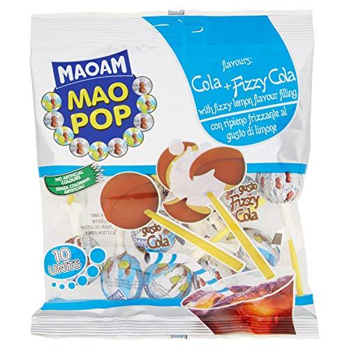 Haribo Busta 10 Pz. Gusto Cola + Cola Ripieno Limone 130 Gr Lecca Lecca Lollipop Irresistibili Per Adulti E Bambini Perfette Per Party Feste E Momenti Di Relax - 130 ml