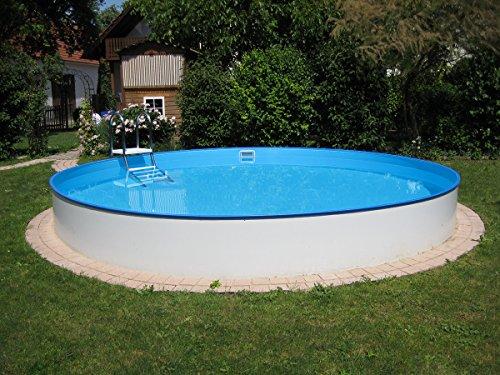 Waterman Rundpool Becken-Set 150 cm Tiefe (SW:0,8 IH:0,6) 500 x 150 cm