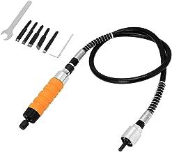 Elektrisch Tranchiermesser Holzschnitt Meißel Set, inkl, 1 Stück Holzschnitzerei Meißel  1 Stück Schraubenschlüssel  1 Stück flexible Welle  5 Stück Klinge